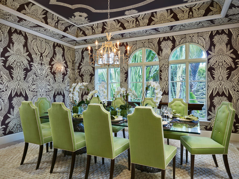 Palm beach dutch colonial home kemble interiors for Palm beach home and design show